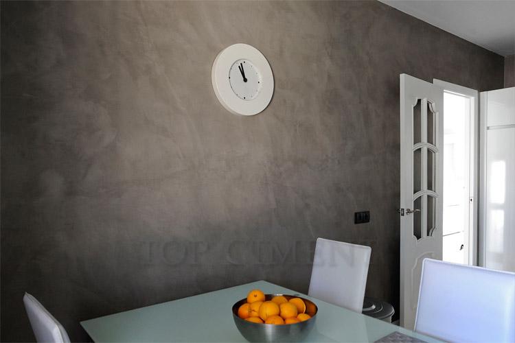 Galer a de fotos microcemento for Microcemento paredes cocina